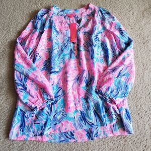 NWT Lilly Pulitzer Elsa Top